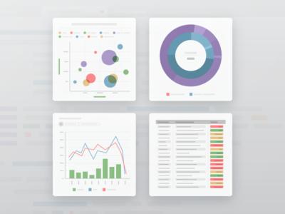 Illustration for Veeam — Charts veeam vector illustrator illustration icon