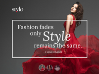Stylo's e-commerce template