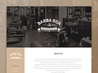 Barber e-commerce template