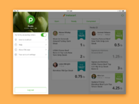Instacart's final UI visuals - Making shopping simple by