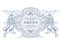 Aqena logotype research