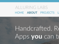AlluringLabs new Website