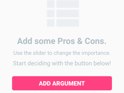 Add some PROS & CONS