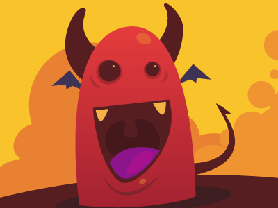 Game Concept illustration illustrator cartoon comic fun character game concept demon devil