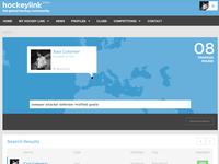 Hockey Link Social Network
