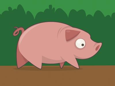 Pig illustrator illustration pig cartoon