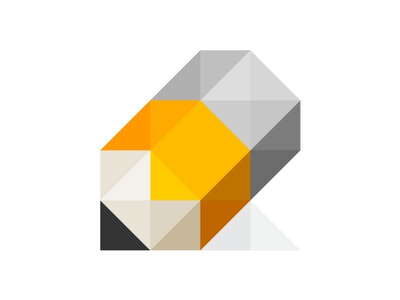 Fractal pencil adobe illustrator flat vector fractal pencil icon