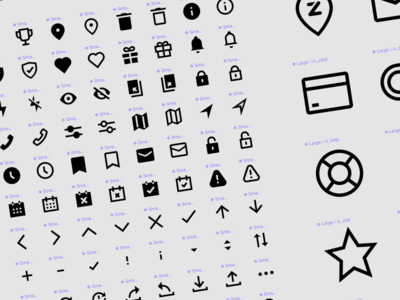 Custom designed icon set figmadesign pixel perfect custom icons zapper