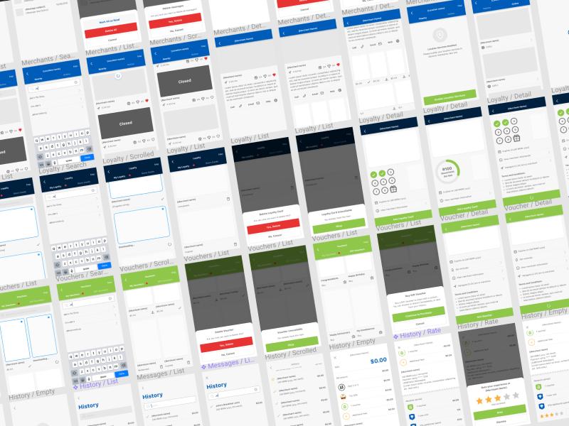 Zapper UI design system figmadesign ui design zapper