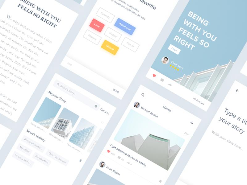 Story App - #Exploration