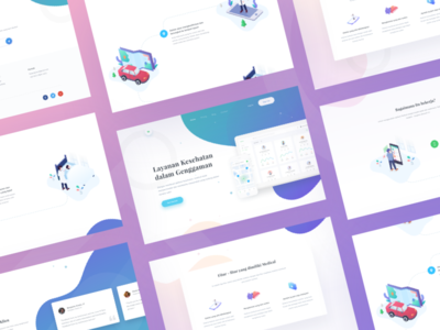 Medical App Landing Page