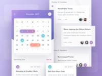 #Exploration - Calendar App