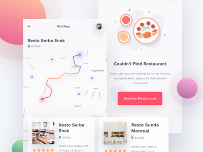 Exploration - Find Restaurant