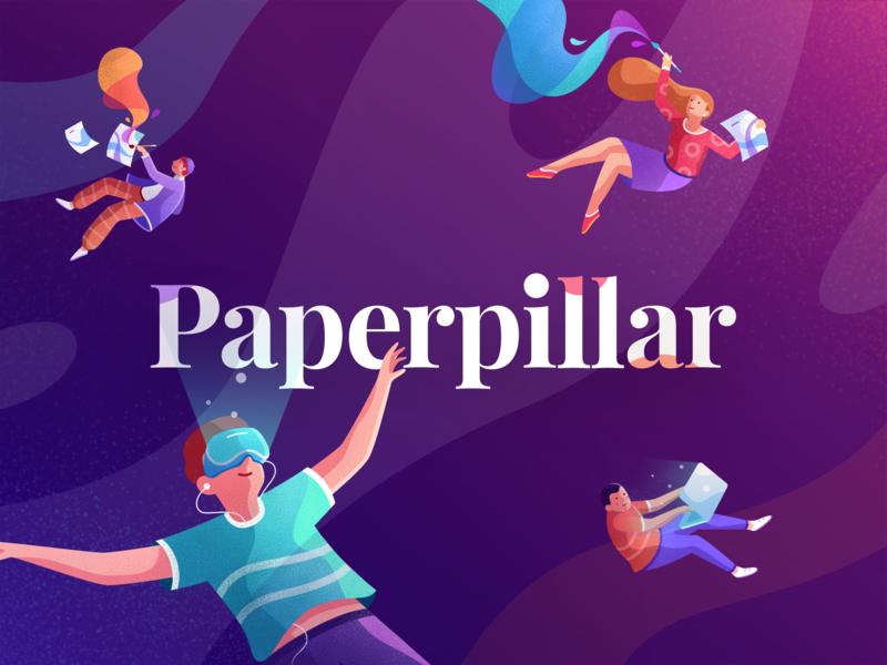 Paperpillar Banner