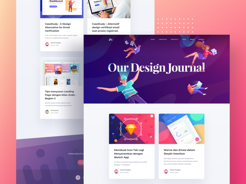 Paperpillar Blog Updates blog cover activity card branding article blog icon logo typography graphic gradient ui character illustration