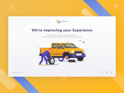 Maintenance Page #Exploration
