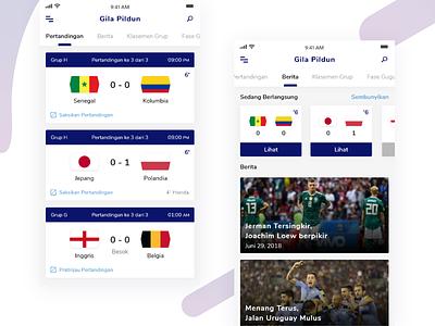 Gila Pildun -  Football Apps #Exploration world cup news match x iphone ios clean soccer football
