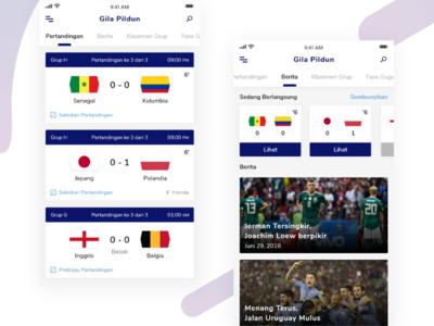 Gila Pildun -  Football Apps #Exploration