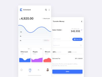 Coinstand Crypto App
