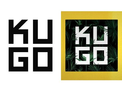 Kugo (2018) typographic geometry band kugo