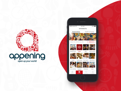 Appening Mobile App development ready4s design app mobile