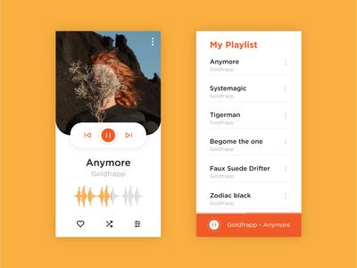 Daily UI 009 > Music player