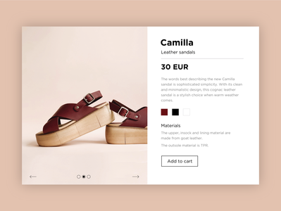 Daily UI 012 > E-Commerce shop