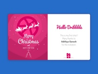 Hello Dribbble ! My first shot.