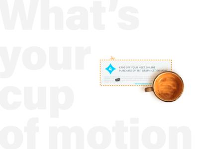 Motion gfx coupon