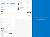 One Page Checkout Components
