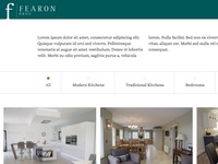 User Experience of Fearon Bros