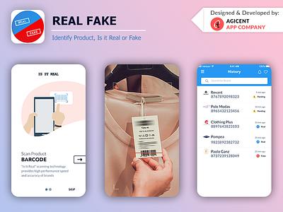 Real Fake lifestyleapp brandingapp brand design ios app design app design design ux ui create an app android app