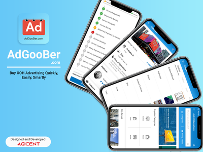 AdGooBer business appdesign app branding ios app android app design app design ux ui