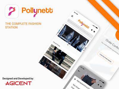 Pollynett ecommerce app android app design ecommerce appdesign design create an app app design ux ui android app