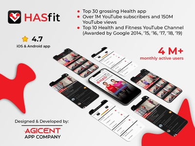 HASfit app design create an app appdesign android app design ios app design ios app app design ux ui android app