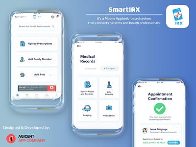 Smartirx onlinedoctorbookingapp doctoronline medical care medical app design ux ui create an app app design app android app