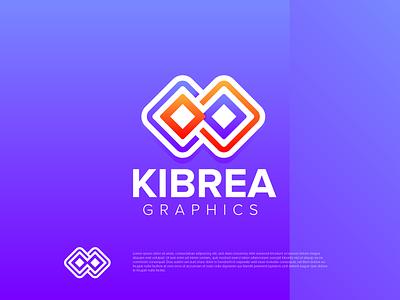 kibrea Graphics Modern logo minimalist modern logo dribbble design ui illustration logo