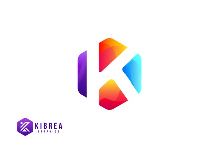 K letter Colorful logo letter logo letter k modern logo flatdesign business brandlogo colorful businesslogo team logo illustration logo