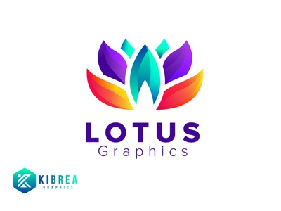 LOTUS Colorful Logo logodesign vector lotus logo lotus flower lotus logo