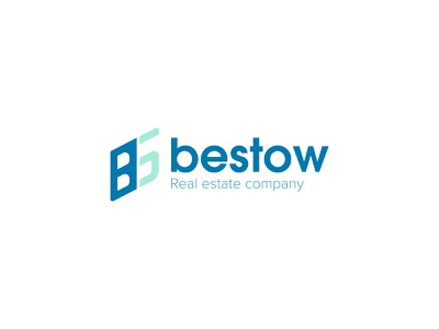 bestow Real Estate company logo vector dribbble logo minimal logo minimalist logo logo design flat logo company logo real estate logo