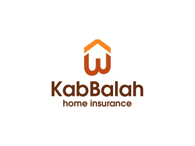kabBalah home insurance company logo colorful logo branding vector modern logo minimalist logo dribbble logo design minimal logo insurance logo home insurance logo