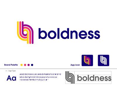 boldness logo design modern logo dribbble b letter logo colorful logo minimalist logo logo design blodness logo identity design barnding logo mark logo