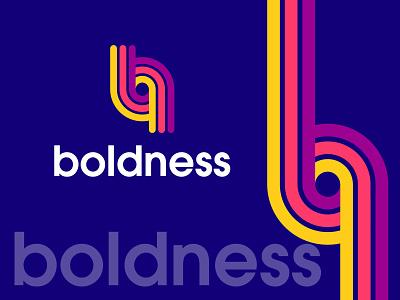 boldness logo design brand identity brand design b letter logo colorful logo branding modern logo minimalist illustration logo