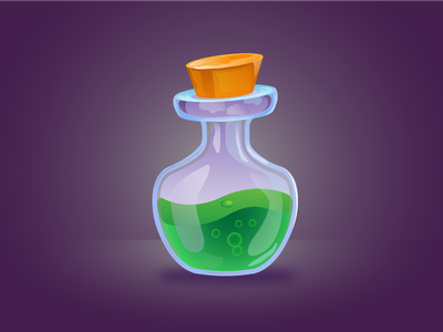 Green Poison logo acid illustration vector mascot green poison