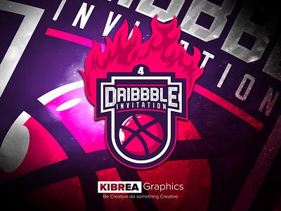 4 Dribbble Invitation invitation  invite  oportunity dribbble giveaway dribbble invite 4 dribbble invite