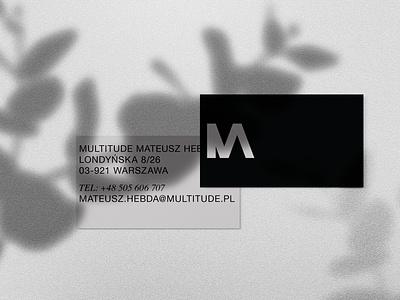 Multitude Logo mlogo mark branding minimalist logo minimalistic