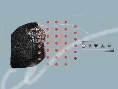 Rosetta stone translated into emojis? illustration blog tooploox photoshop texture translation language emoji rosetta stone artificial intelligence