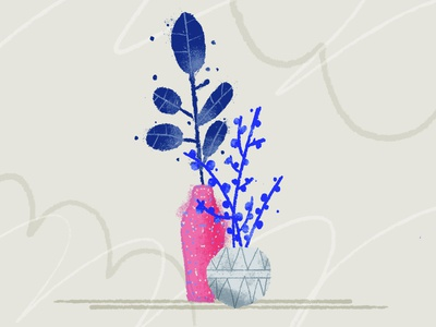 Plants flowers plants wrocław illustration