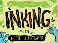 Inking In Adobe Illustrator