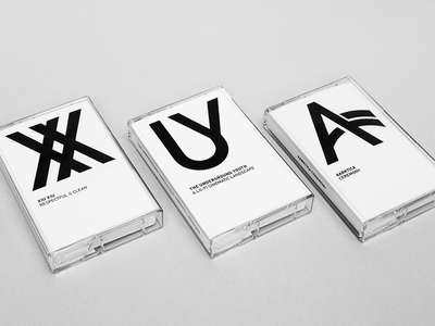 Fnord Tapes bw minimal packaging tapes cassettes fnord tapes fnord